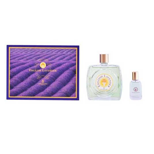 atkinsons english lavender eau de toilette cofre regalo 2 piezas