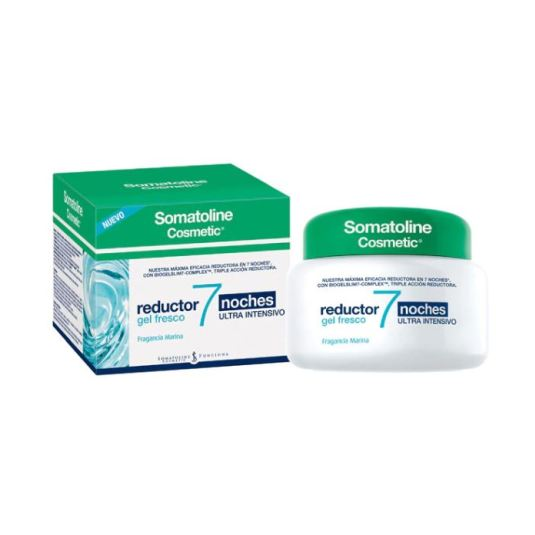 somatoline reductor intensivo gel fresco
