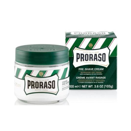 proraso crema pre-afeitado mentol eucalipto 100ml