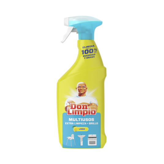 don limpio multiusos extra limpieza spray 720 ml