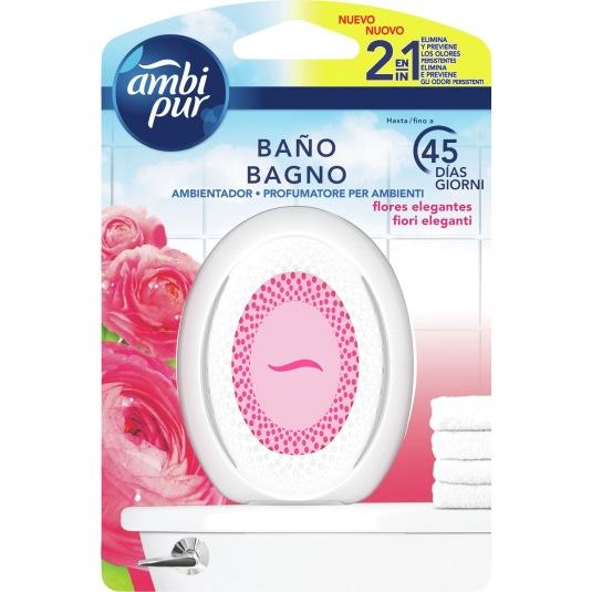 ambi pur ambientador baño flores elegantes 1 unidades