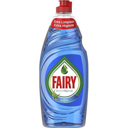 fairy lavavajillas ultra poder extra higiene eucalipto 500ml