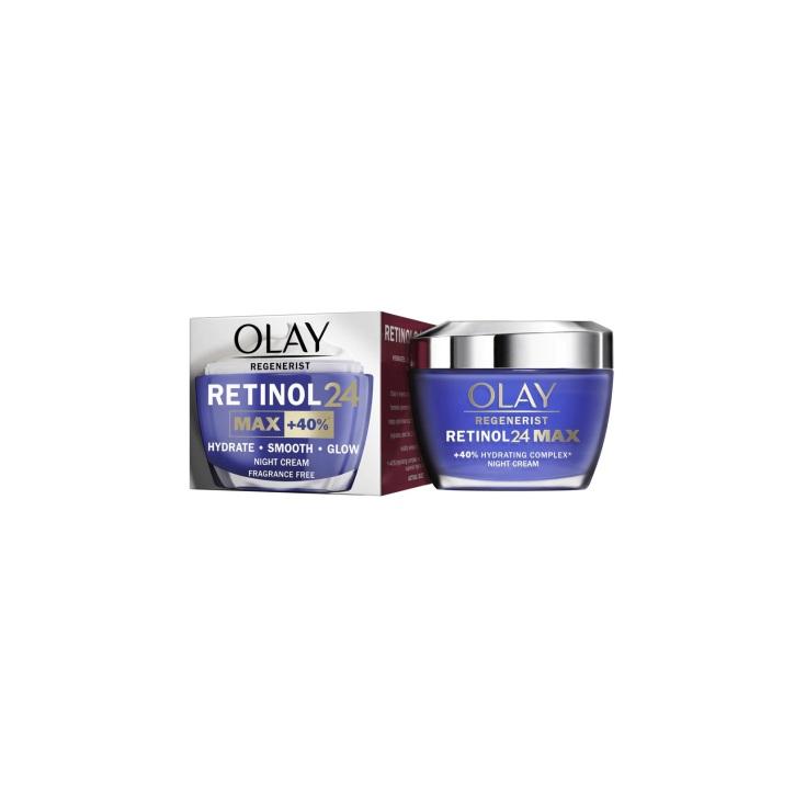 olay regenerist retinol 24 max crema facial de noche 50ml