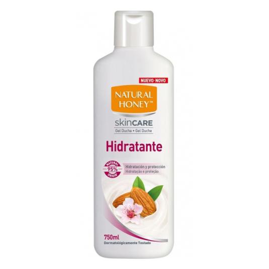 natural honey skin care gel de ducha hidratante 750ml