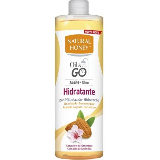 natural honey oil & go aceite hidratante corporal 300ml