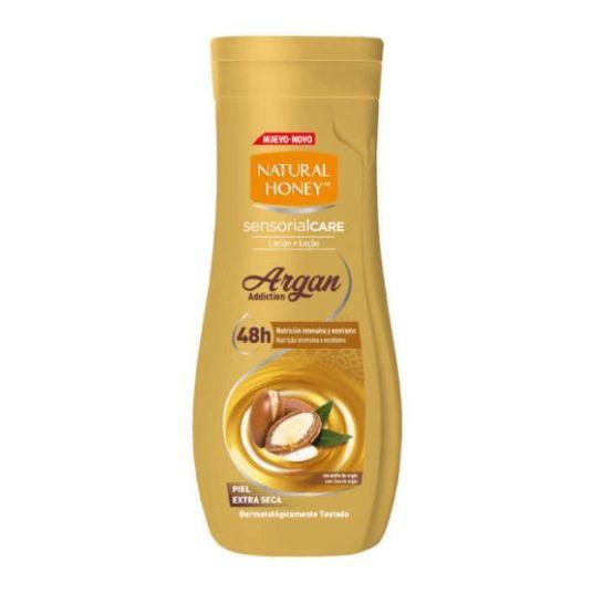 natural honey locion corporal elixir de argan 300ml
