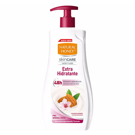 natural honey locion corporal extra hidratante dosificador 700ml