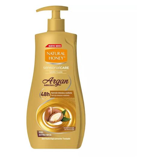 natural honey locion corporal elixir de argan 700ml