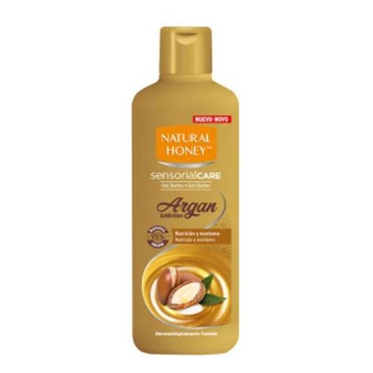 natural honey elixir de argan gel de baño 650ml