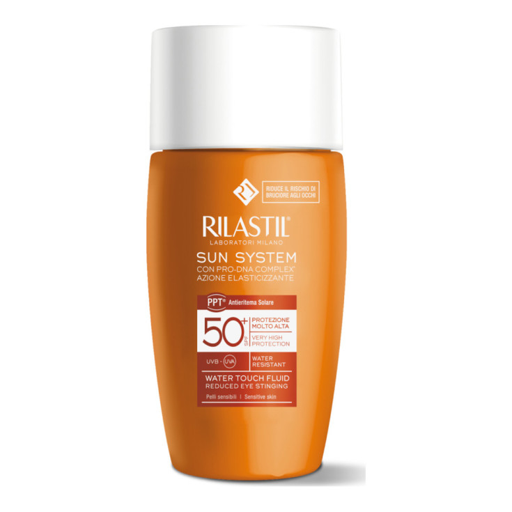 rilastil sun system 50+ water touch fotoprotector facial 50ml