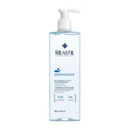 rilastil dermagerm gel hidroalcoholico higienizante de manos 500ml dosificador