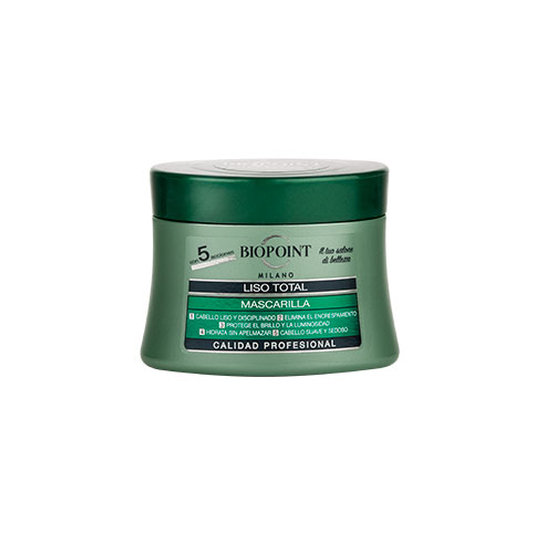 biopoint mascarilla liso total 250ml