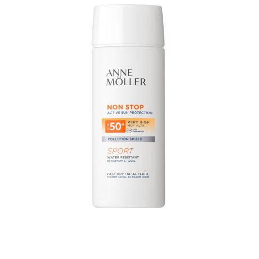 anne moller non stop sport protector solar facial muy alta spf50+ 75ml