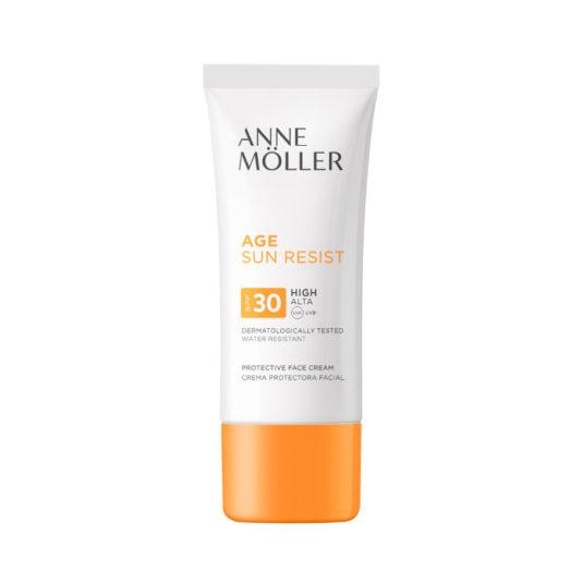 anne moller age sun resist crema protectora facial spf30 50ml
