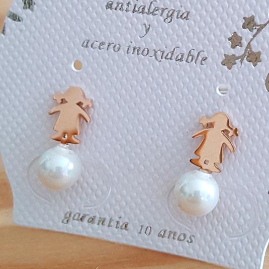 pendiente perla 06