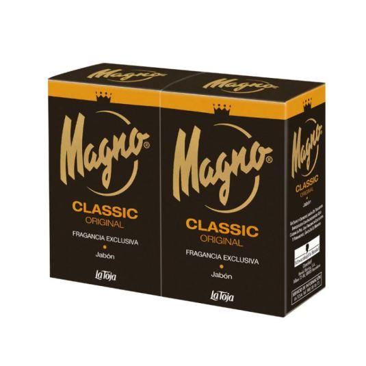 magno classic pastillas de jabon pack 2x125g