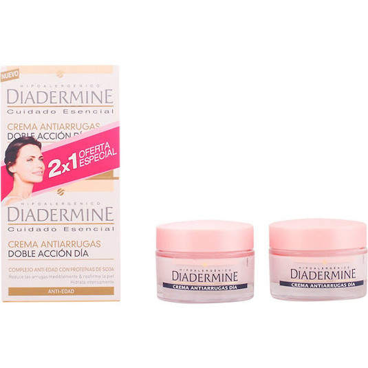 diadermine crema dia anti edad doble accion duplo 2x50ml