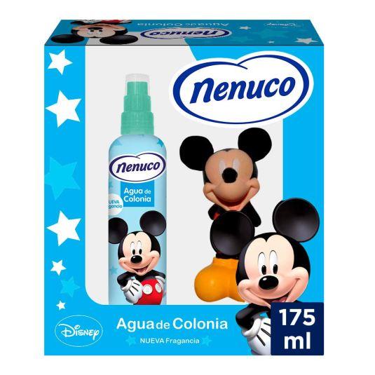nenuco mickey agua de colonia infantil-bebe 175ml + muñeco