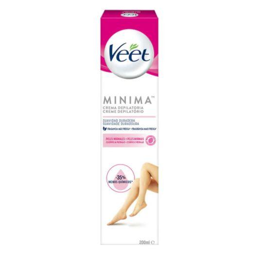 veet minima crema depilatoria cuerpo y piernas para piel normal 200ml