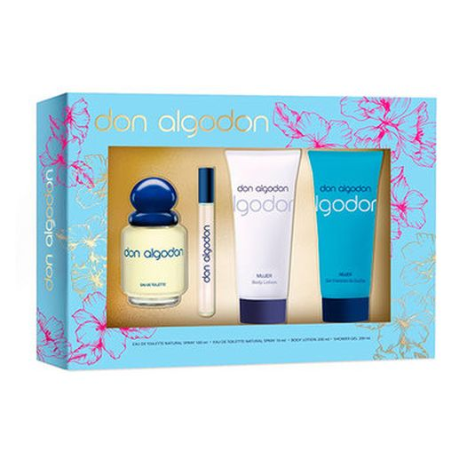 don algodon eau de toilette 100ml set 4 pieza