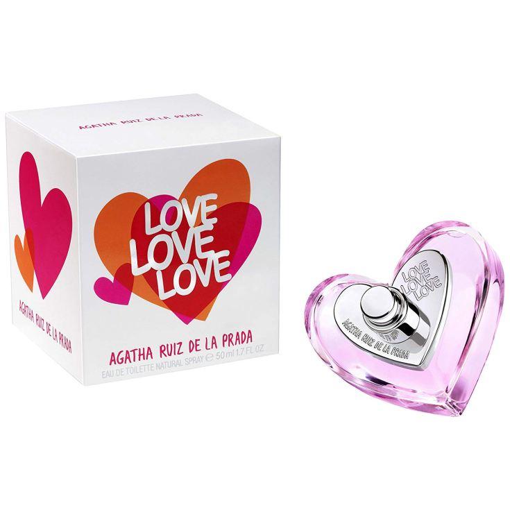 agatha ruiz de la prada love love love eau de toilette 50ml