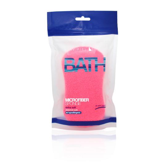 suavipiel esponja de baño microfibra colores surtidos 1ud
