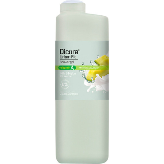 dicora urban fit gel baño vitamina a 750ml