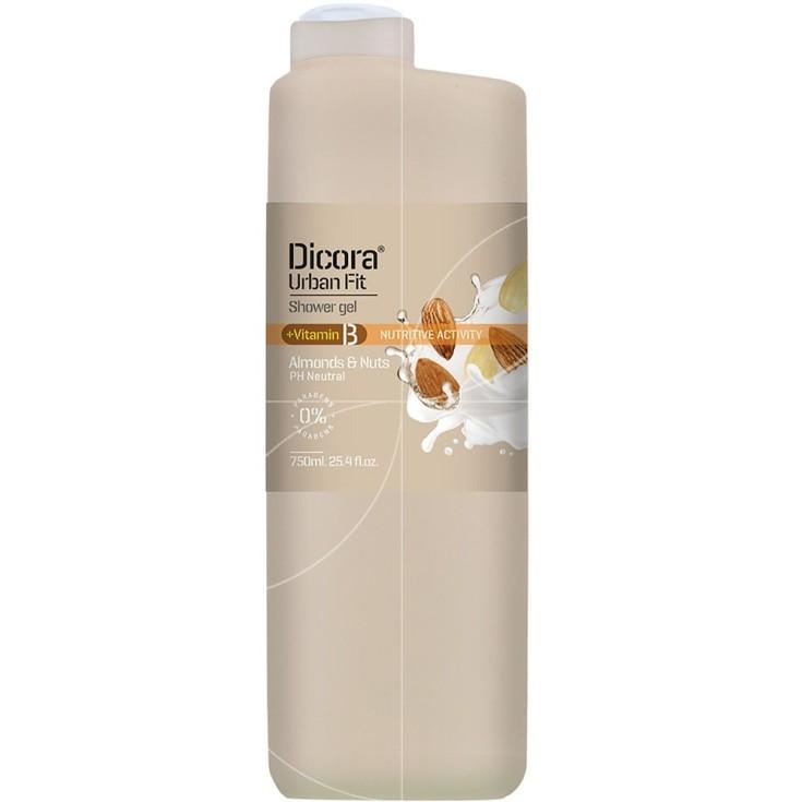 dicora urban fit gel baño vitamina b 750ml