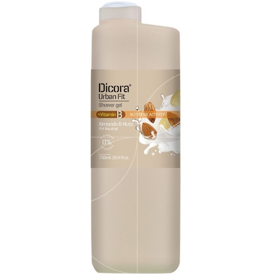 dicora urban fit gel baño vitamina b 750ml