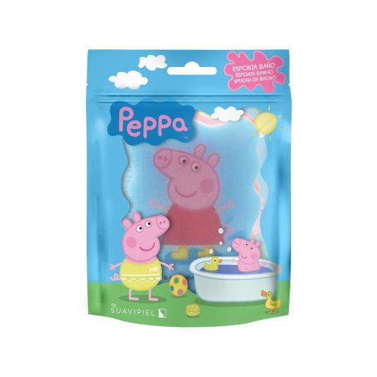 suavipiel esponja de baño infantil peppa pig