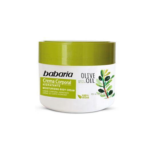 babaria crema corporal hidratante aceite de oliva 250ml