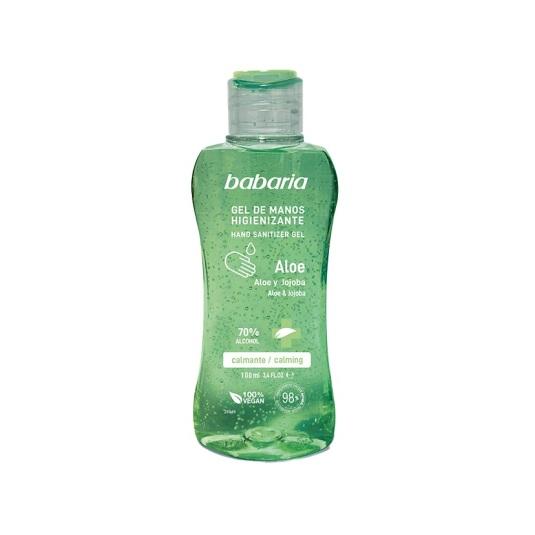 babaria gel higienizante de manos aloe 100ml