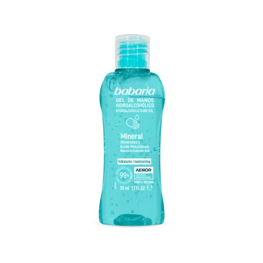 babaria gel de manos hidroalcoholico mineral 50ml