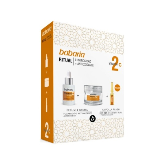 babaria ritual serum vitamina c 30ml set 3 piezas