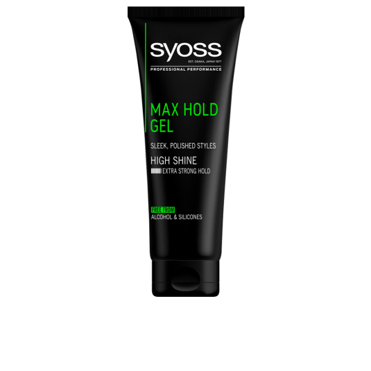 syoss gel max hold 250ml