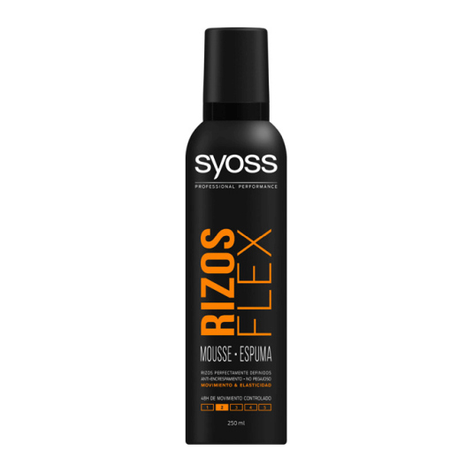 syoss espuma rizos flex 250ml