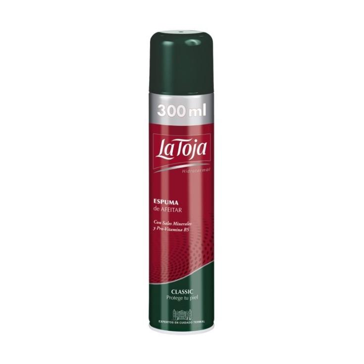 la toja espuma de afeitar classic spray 300ml