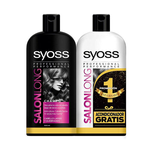 syoss salon long champu 500ml+acondicionador 500ml