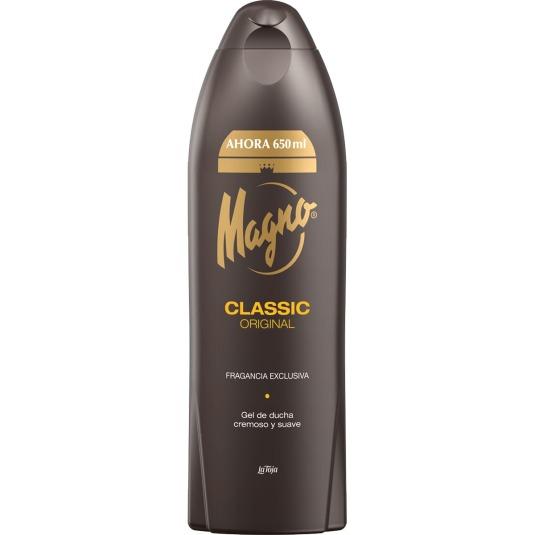 magno classic gel de ducha cremoso y suave 650ml