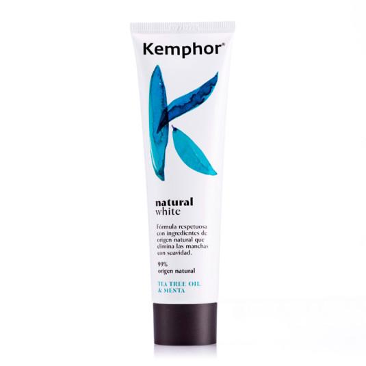 kemphor natural white pasta de dientes 100ml