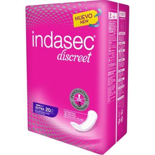 indasec discreet extra 20ud