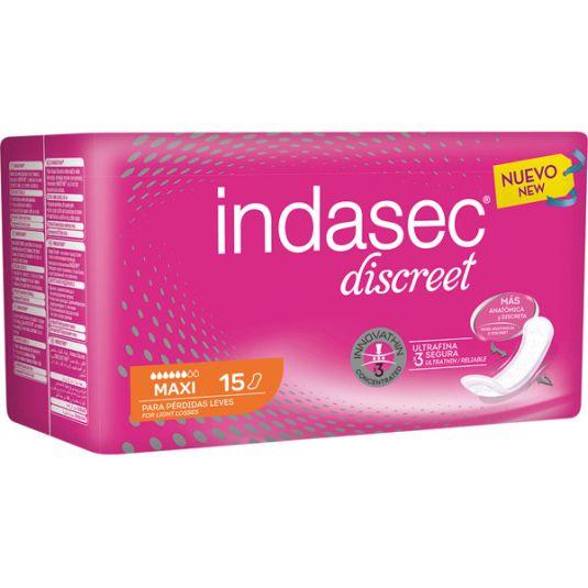 indasec discreet maxi 15ud