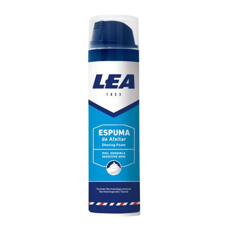 lea espuma de afeitar piel sensible