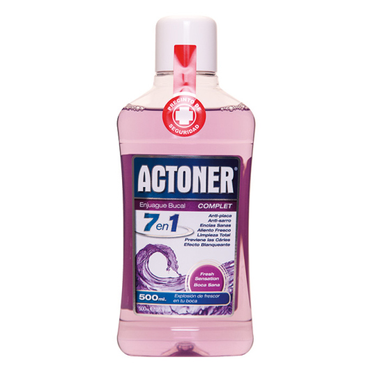actoner enjuague bucal complet 7 en 1 500ml