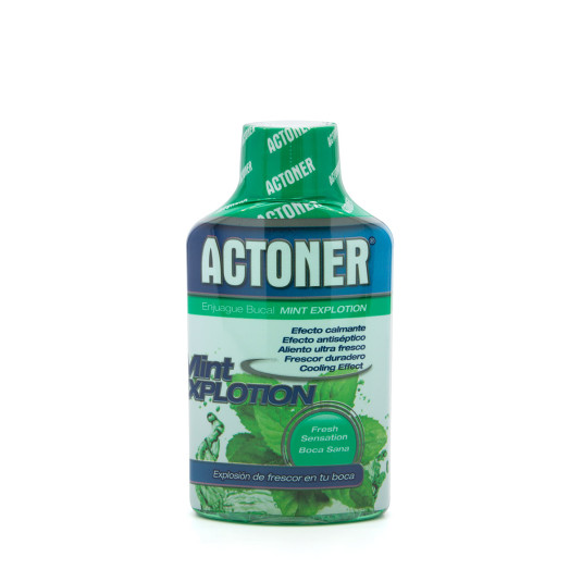actoner enjuague bucal mint explotion 100ml