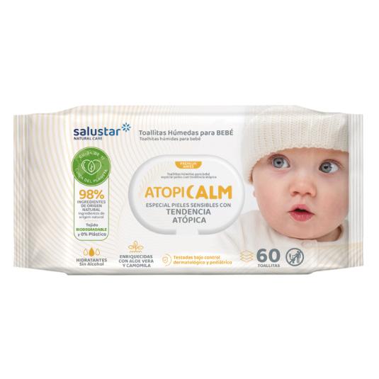 salustar toallitas bebe pieles atopicas 60ud