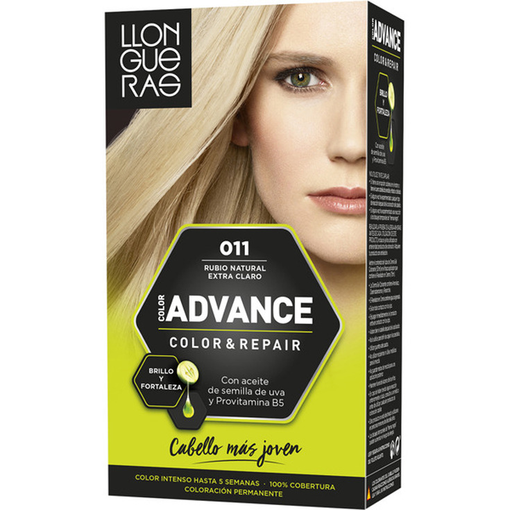 llongueras advance color&repair tinte permanente nº11 rubio natural extra claro