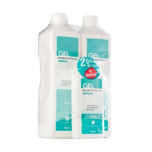 inibsa gel derma 1000ml duplo + mini 200