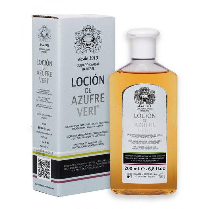 intea veri azufre locion capilar anti-caida 200ml