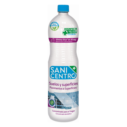 sanicentro multidesinfeccion fregasuelos 1,5 litros